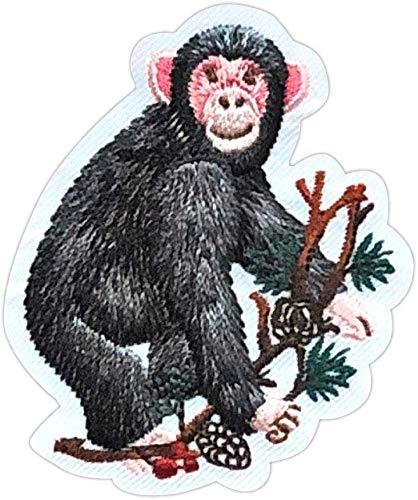 パイオニア ナチュラルワッペン 動物シリーズ「サル」 WB350-23017