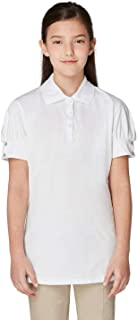 French Toast Girls' Puff-Sleeve Polo