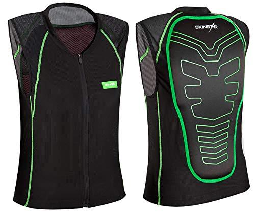 SkinStar SUPER Vest Rückenprotektor Protector Ski Snowboard Sicherheitsweste Rückenschutz