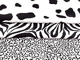 Amornphan Set mit 3 schwarzen und weißen Tiermustern TC