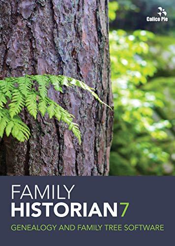 Family Historian 7 Genealogy and Family Tree Software (Windows)