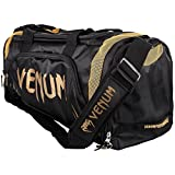 Venum Trainer Lite, Bolsa de Deporte, Gym, 57 Litros, Unisex Adulto, Negro/Dorado, Talla Unica