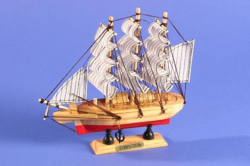 Mysale24 Confection 3-Master Miniatur-Schiff