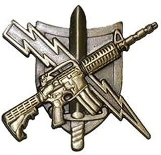 UNIFORM INSIGNIA Tactical Patrol Officer Pin - Center Mass - Basic - Antique Gold