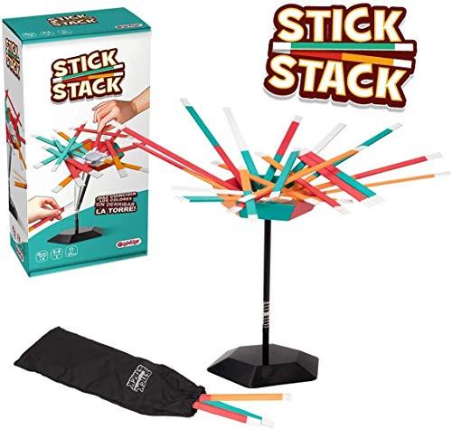 Lúdilo- Stick Stack, Multicolor (80807) , color/modelo surtido