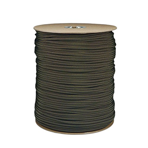 PARACORD PLANET 250' & 300' Hanks, 1000' Spools of Parachute 550 Cord Type III 7 Strand Paracord