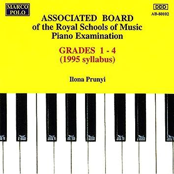 Piano Music For Students: Associated Board Piano Examination, Grades 1-4