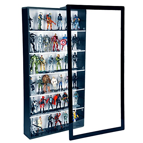 """Action Figure Display Case - 3 3/4"""" Scale"""