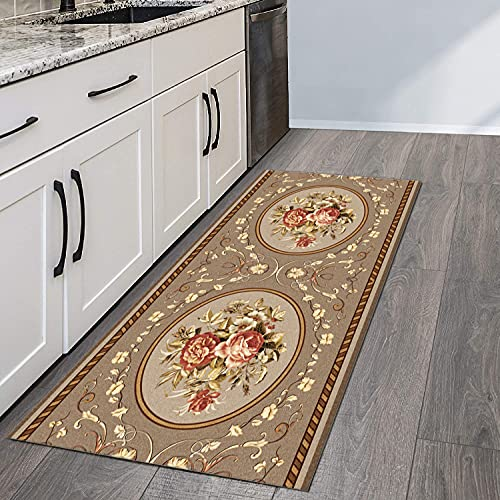 QIANGZI Alfombra de pasillo antideslizante por metros, color negro, poliéster, no se decolora, para cocina, dormitorio, pasillo y pasillo (tamaño: 60 × 450 cm, color: uno)