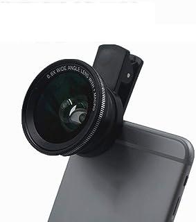 L.J.JZDY telefonobjektiv mobilobjektiv 0,6 x ultra-vidvinkel-makro didiveringsfri, ej deformerbart SLR-glas i klass 2 i 1 ...