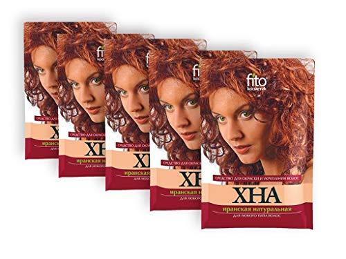 5 Set Haarfarbe Henna Naturhaarfarbe Coloration Haartönung 125g (5*25g) Хна(EUR 6,39/100 g)