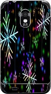 Neon Snowflakes Snowflake Galaxy S II Epic 4G Touch -Sprint Vinyl Decal Sticker Skin