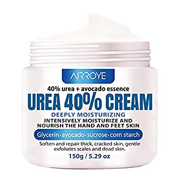 Urea 40% Foot Cream 5.29 oz ‖ Best Callus Remover For Feet Knees& Elbows ‖ Natural Moisturizes Nourishes Softens Dry Rough Cracked Dead Skin