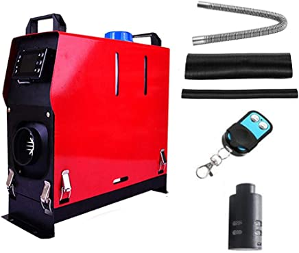 Caravans Motorhomes Woolves Car Air Diesel Heater Parking 12V 5000W Diesel Heater with Remote Control LCD Monitor for Truck,Boat,Car Trailer,Touring Car,Campervans