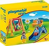 PLAYMOBIL - 1.2.3 Parque Infantil Juego con Accesorios, Multicolor (70130)