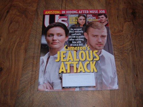 US Weekly, February 5, 2007-Jessica Biel & Justin Timberlake.