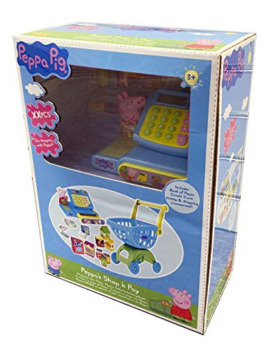 CYP BRANDS Tienda Supermercado Peppa Pig, Multicolor, (1)