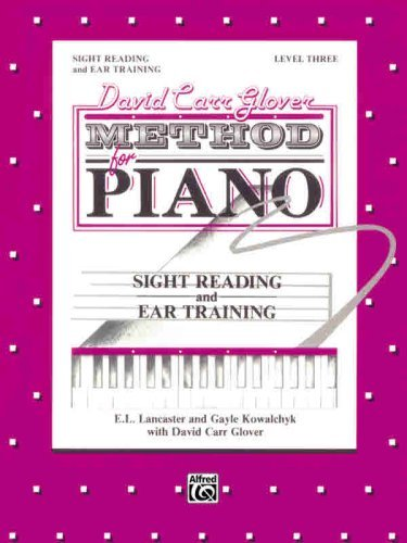 David Carr Glover Method for Piano Sight Reading and Ear Training (English Edition)