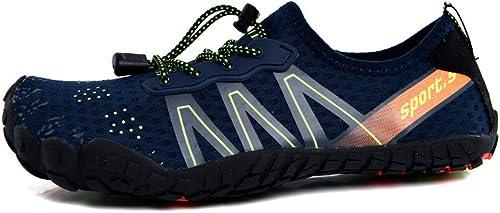 Chaussures Nautiques Chaussures de Sport Nautiques à séchage Rapide, Pieds nus-bleu-41