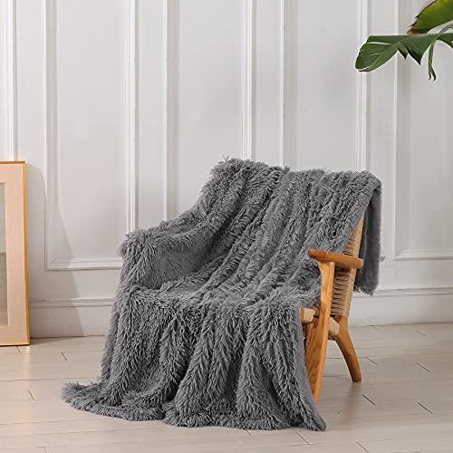 Decorative Extra Soft Faux Fur Throw Blanket 50
