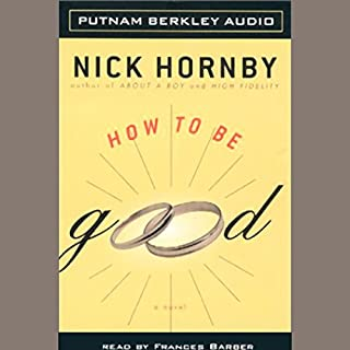 How to be Good audiobook cover art