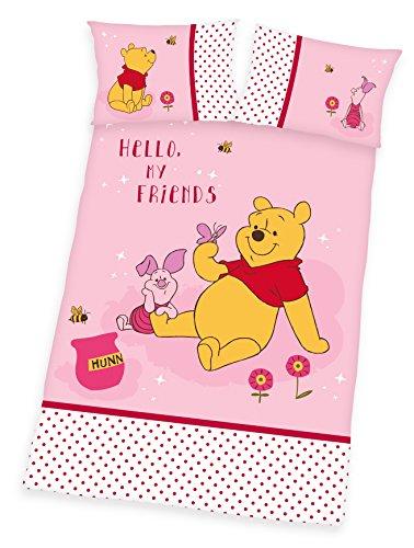 Winnie the Pooh Parure de lit 40 x 60 cm + 100 x 135 cm