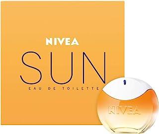 NIVEA SUN Eau de Toilette (1 x 30 ml) con el original aroma de la crema solar NIVEA SUN perfume para mujer en un icónico ...