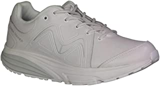 Men's Simba Trainer White/Silver Fitness Walking Sneakers 700860-409F Size 10.5