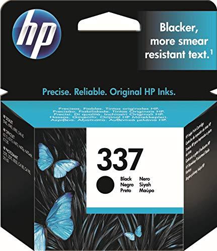 HP 337 C9364EE, Negro, Cartucho de Tinta Original, de 420 páginas, para impresoras HP Officejet serie 6300, 7100; Deskjet 5940, 6540, 6940, 6980 y Photosmart C4190
