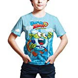 WYPAN Superzings Anime Cartoon Child T-Shirts Around The game-TS14902_S Unisex 3D Printed Tops Tees...