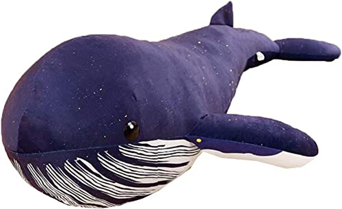 autorización oficial QHWJ Animales de Peluche, Cojines de Almohada de tiburón tiburón tiburón Ballena, habitación Infantil de Felpa Corta, decoración del hogar, bebé, Comodidad para Dormir, Juguetes,125cm  80% de descuento