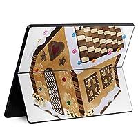 igsticker Surface Pro X 専用スキンシール サーフェス プロ エックス ノートブック ノートパソコン カバー ケース フィルム ステッカー アクセサリー 保護 005314 その他 お菓子 家 イラスト