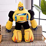 hhjxptst Juguete De Felpa, Transformers, Dynasky, Hornet, Throw Plush, Large Size, Pillow, Ultra-Soft, 2.5m Amarillo