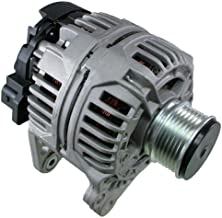 LActrical NEW ALTERNATOR FOR VW BEETLE GOLF JETTA DIESEL TDI 99 2000 01 02 03 04 05 06 120AMP W/CLUTCH PULLEY
