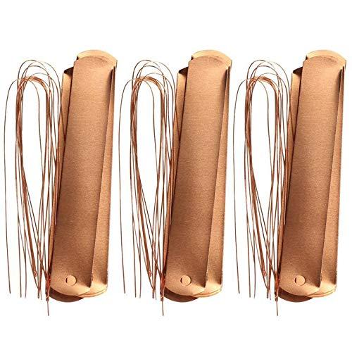 Ctzrzyt 60Pcs Copper Gardening Labels Copper Wire Reusable Practical Plant Tag Plant Identifier