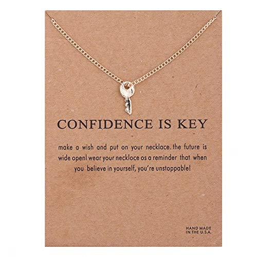 DJCINNOV Guardian Angel Gold Chain Gift Card (Confidence is Key)