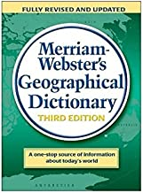 Best merriam-webster's geographical dictionary Reviews