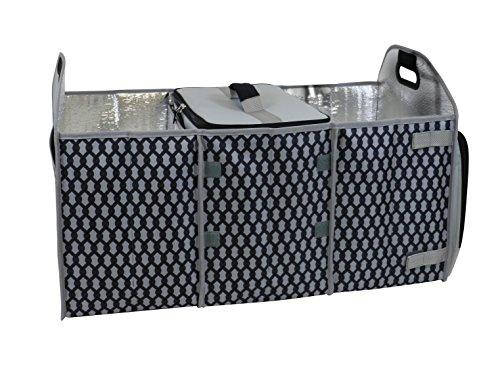 HOMZ 4506039 Grey Trunk Organizer