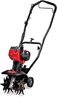 Craftsman C210 9-Inch 25cc 2-Cycle Gas Powered Cultivator/Tiller (Renewed)