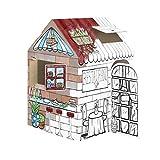Bankers Box Play Treats 'N' Eats Playhouse, White, 1pk