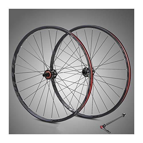 Rueda de bicicleta fija 29 pulgadas fuera de la carretera de montaña de la aleación de aluminio de bicicletas de ruedas de disco de freno 11-12 Lamer velocidad con C9.0 anti-cursor de volante SRAM