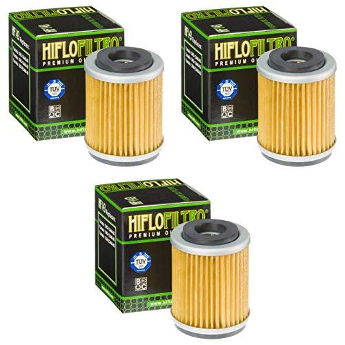 Preisvergleich Produktbild Hiflo 3x Ölfilter SR 125 1987-2002 HF143