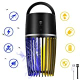 Mayepoo Mosquito Killer Fly zapper 2 in 1 Fly Killer, USB Easy to Use with Brush Easy to Clean, Absolute Safe for Kids Pets & Pregnancy