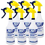 Zep Professional Sprayer Bottle 32 ounces (Case of 6) Up to 30 Foot Spray, Adjustable Nozzle