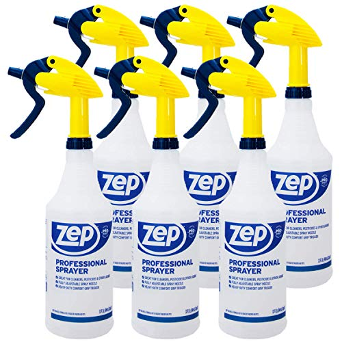 Zep Professional Sprayer Bottle 32 ounces (Case of 6) Up to 30 Foot...
