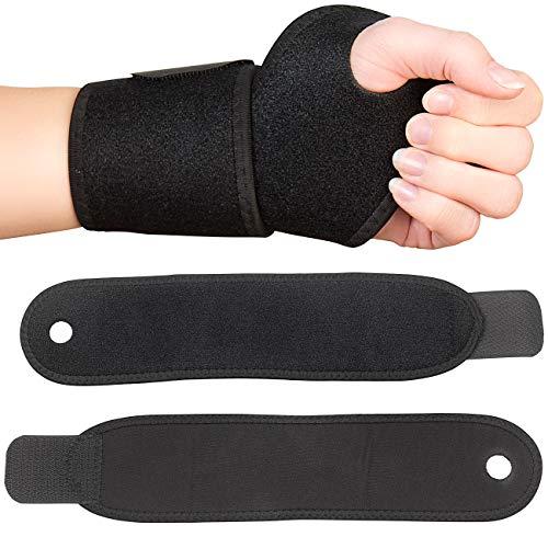PEARL sports Handbandage: 2er-Set Handgelenk-Bandage für Kraftsport, aus Neopren, Universalgröße (Sportbandagen)
