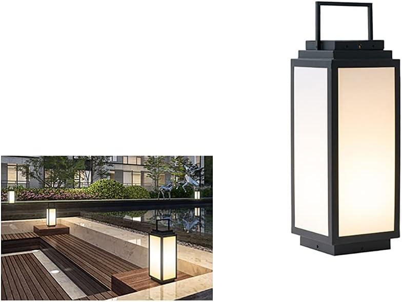 WEIJINGRIHUA Outdoor Post Lights Lantern quality assurance Clearance SALE! Limited time! Solar Lig