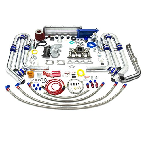 Amazon.com: High Performance Upgrade T04E T3 22pc Turbo Kit - Honda D-Series Ram Horn Manifold: Automotive
