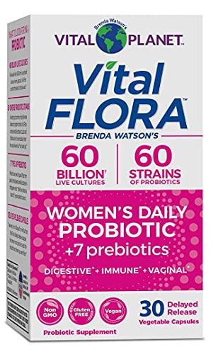 Vital Planet - Vital Flora 60/60 Probiotic Women's 30 Capsule