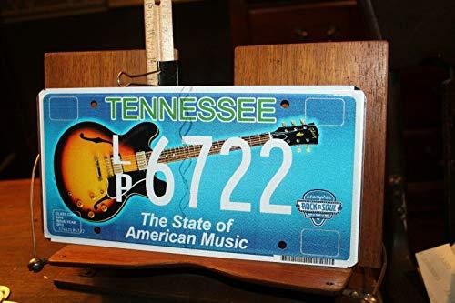 TammieLove 2012 Tennessee Nummernschild LP6722 American Music Bb King Lucille Rock Soul 15,2 x 30,5 cm Nummernschild